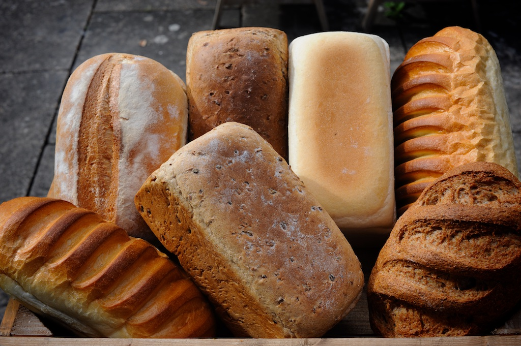 Tin Loaves & Bloomers - We make traditional white, wholemeal and country malt tin loaves and bloomers for classic sandwiches and toast.Available as 800g tins & sandwich tins and 800g & 400g bloomers
