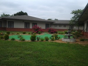 - Our outside grounds are beautiful and spacious.