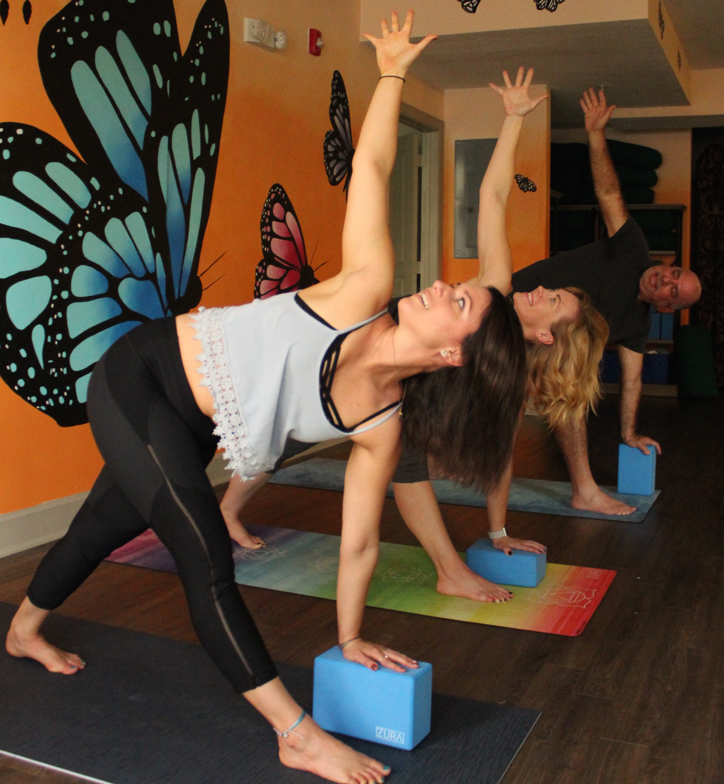 Balancing Workshop - March 16, 20192-3:30pm with Kate SalvatoriEagle, Dancer, Half-Moon...What do all of these asana have in common?Balance!A sense of balance means more than being able to stand on one foot! True balance in yoga means physical, mental, and emotional stability. Finding your center and being able to remain steady while balancing will improve your focus, relieve stress, and help you to deal with difficult situations. You'll learn to approach challenges with calm awareness, both on and off the mat.Join us for a workshop centered around these balance poses and more!