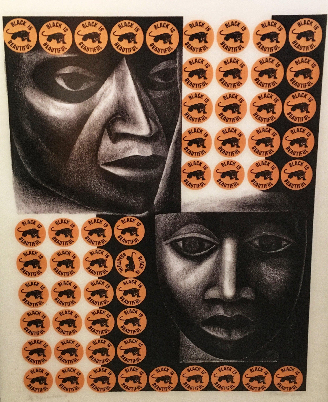 Negro es bello II by Elizabeth Castlett