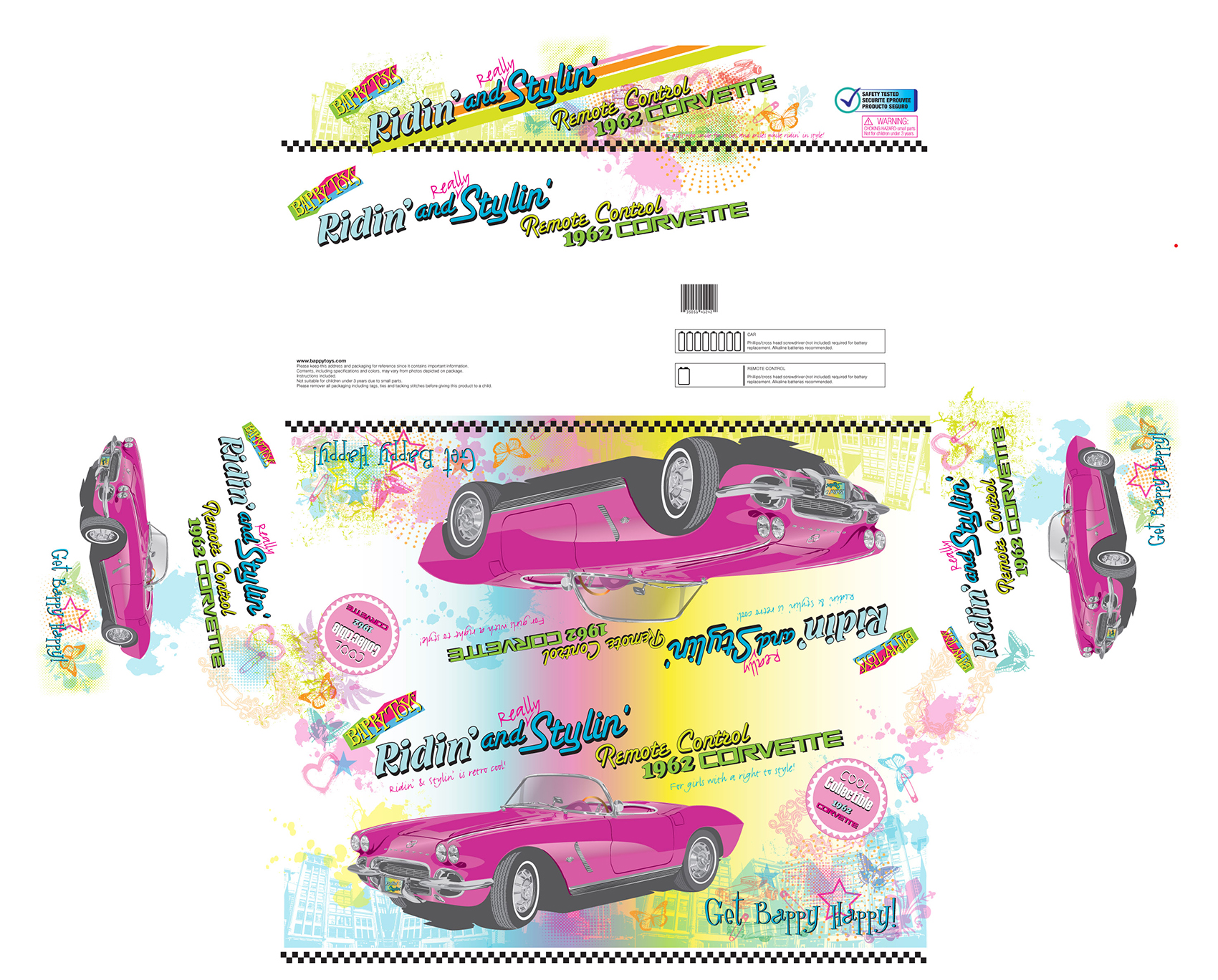 Toy Car Box Design