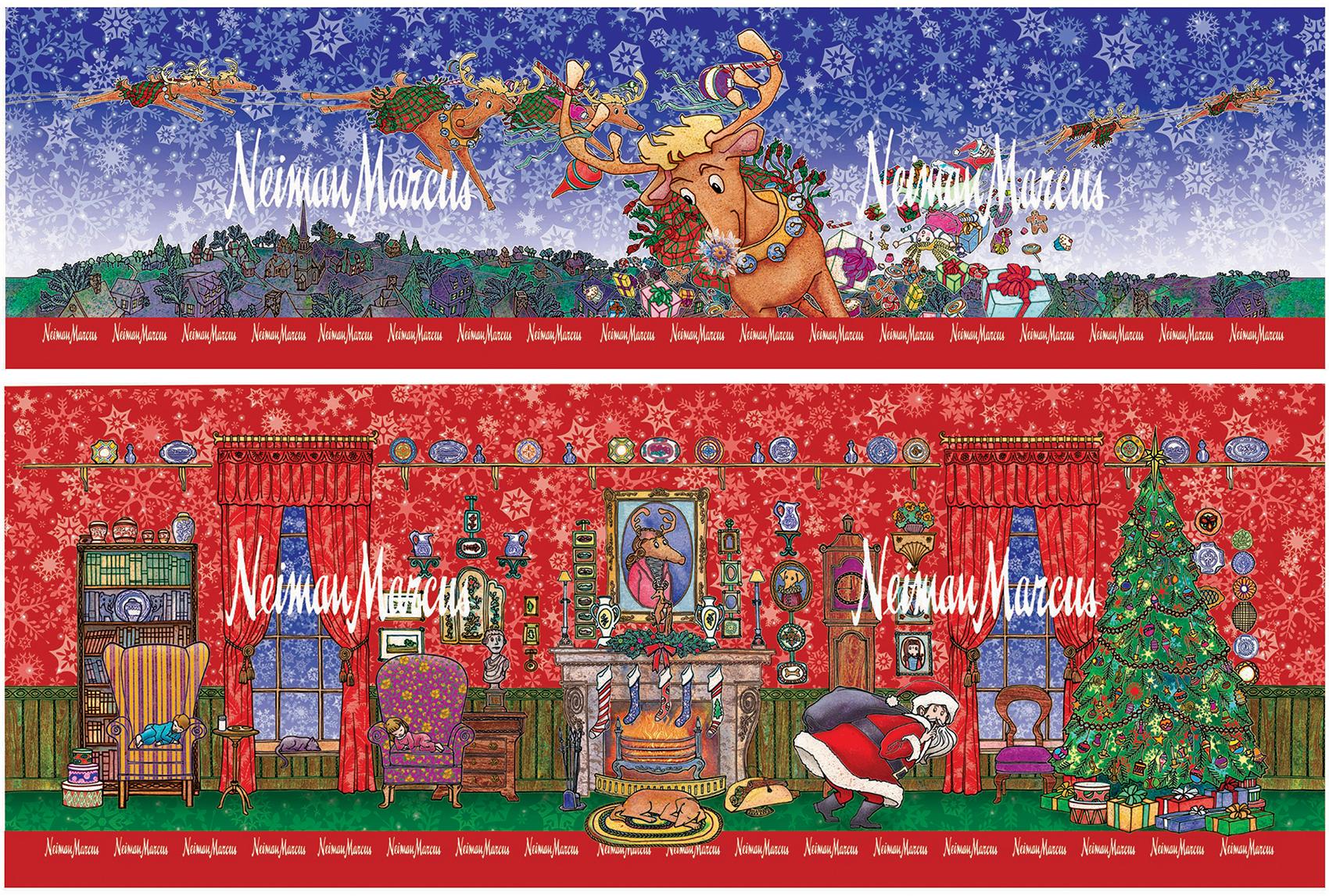 Christmas Tin for Neiman Marcus