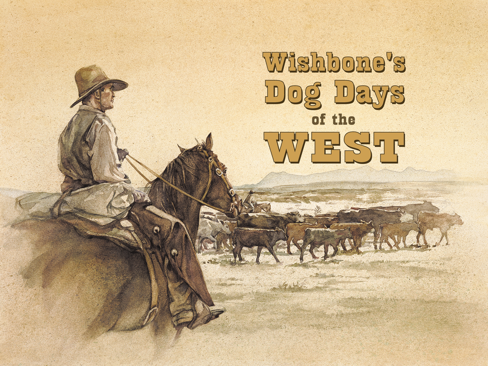 """Title Design, """"Wishbone's Dog Days of the West"""""""