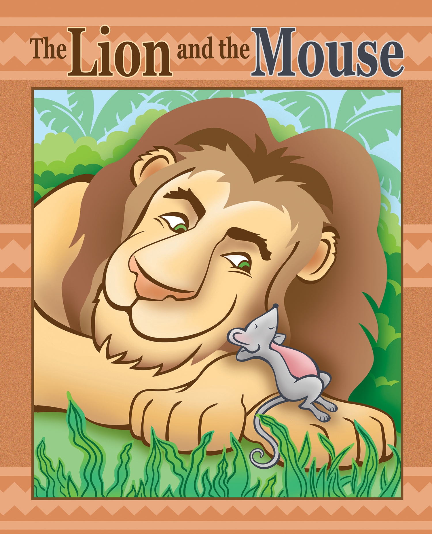 The Lion and the Mouse for Barney & Friends
