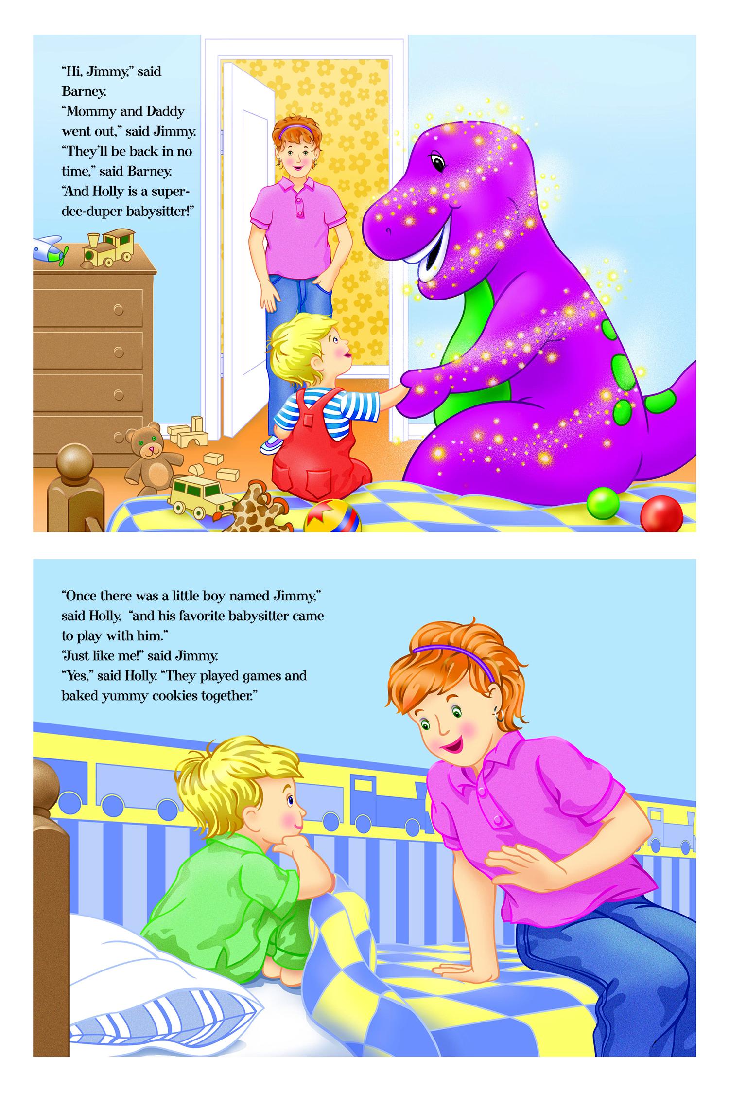 Barney's My Favorite Babysitter