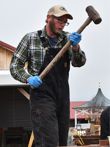 Michael Allen - Associate ShipwrightMichael Allen has been with the Chesapeake Bay Maritime Museum since 2016, when he joined the crew of the Edna Lockwood restoration.Allen has a background in arts administration at the University of Maine in Farmington, and boatbuilding at The Carpenter's Boat Shop in Pemaquid, Me.He also brings three years' experience as a boatbuilder and carpenter from the non-profit WaterFire Providence, in Providence, R.I.
