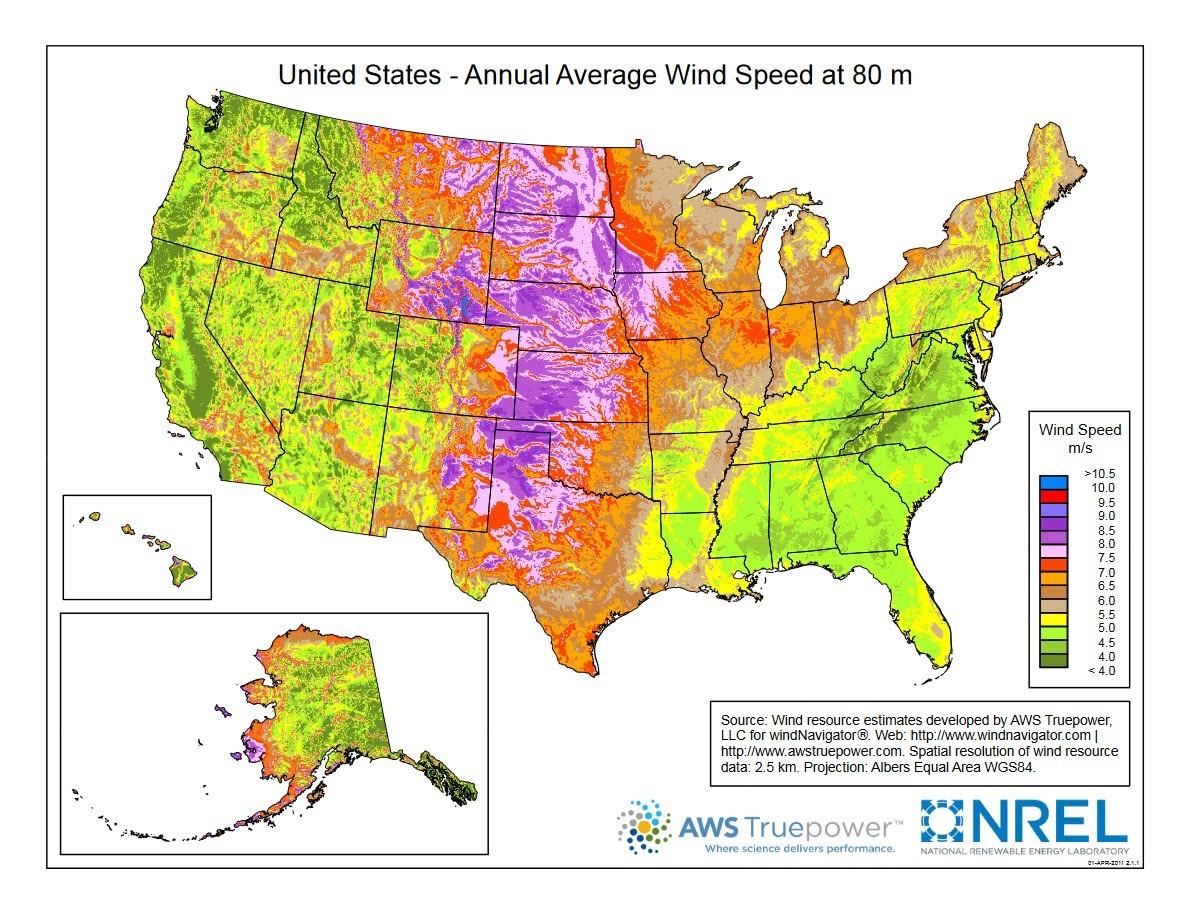 Figure A: Taken from  https://windexchange.energy.gov/maps-data/319
