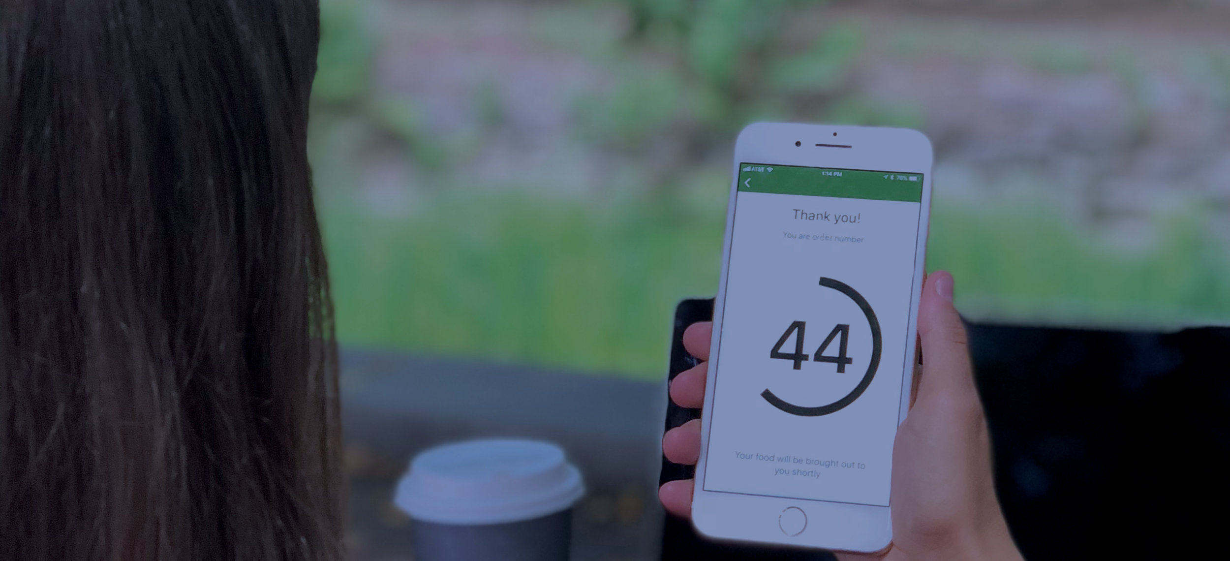 Radius Networks enables customers to add themselves to a nearby restaurant waitlist with a simple click of a button.