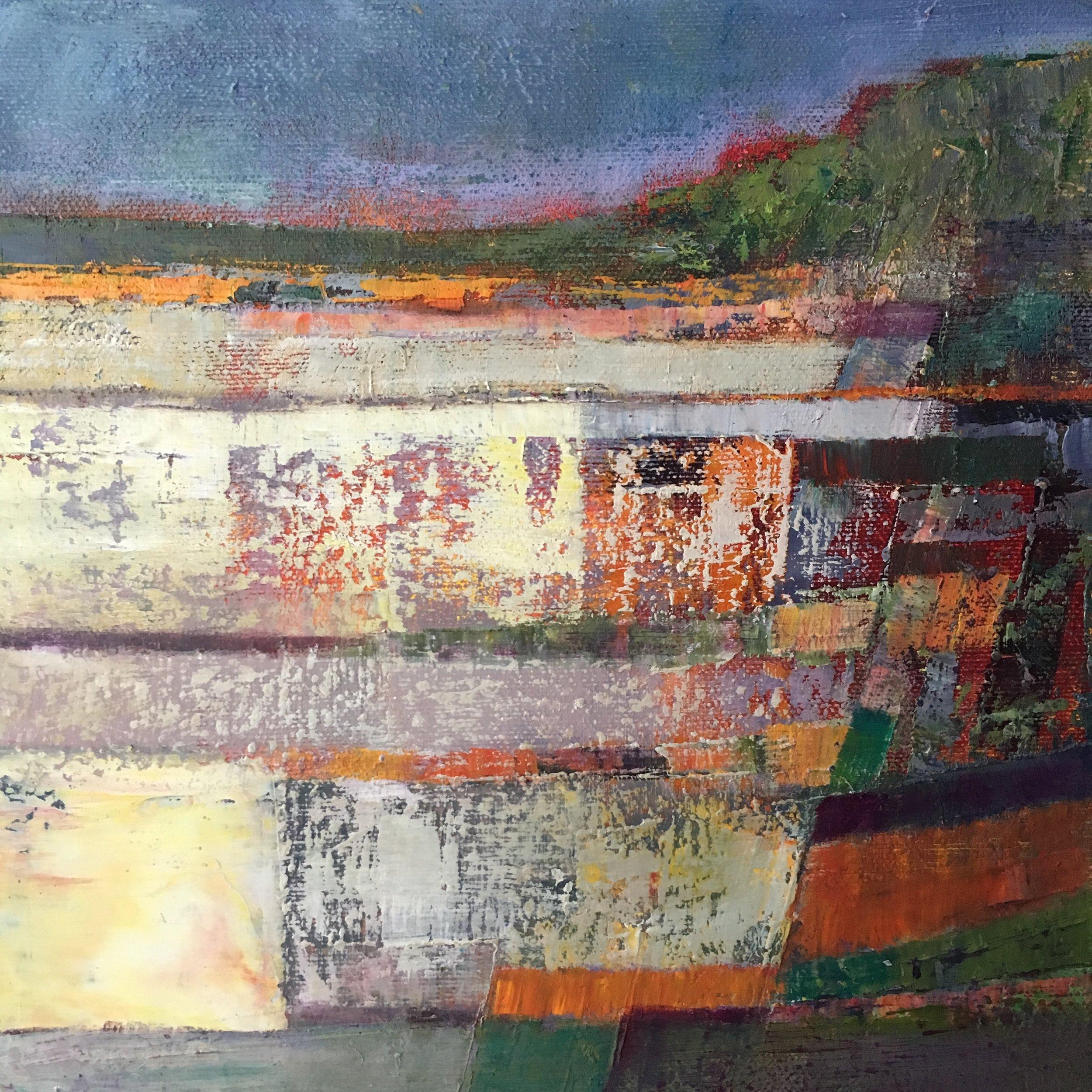 Newborough Beach oil on canvas 25x25cm £250