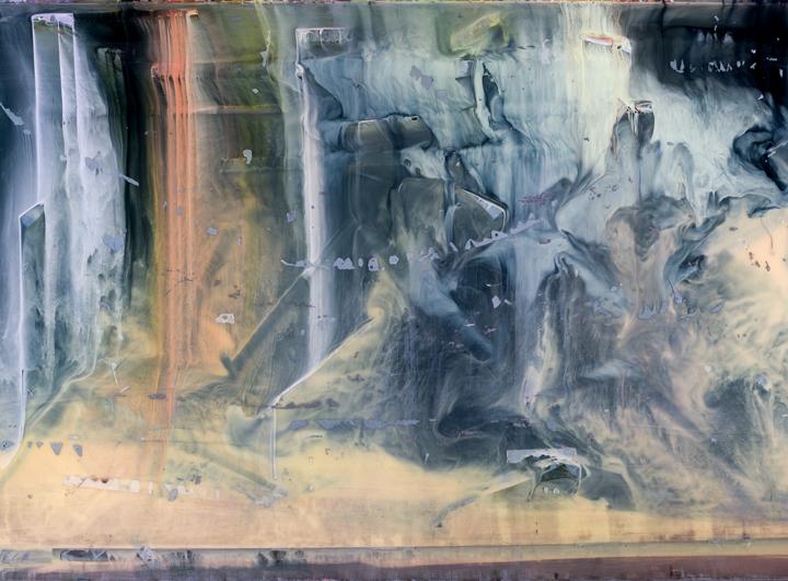"Abstract 5260,  C-print, Archivally Mounted, UV Plexiglas Ed. 1/5, 32"" x 43"""