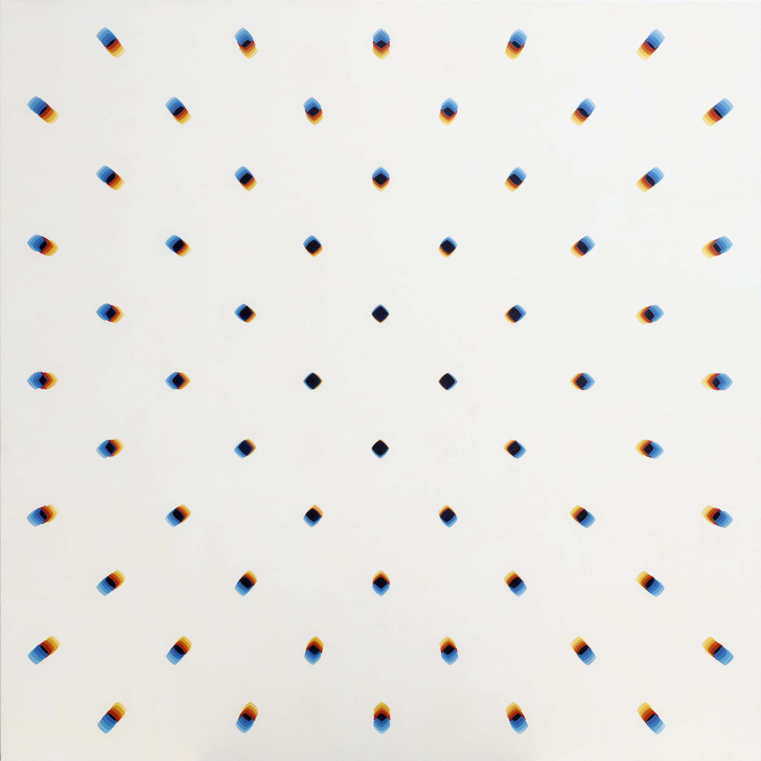 """e3e2df,  Acrylic on Canvas , 59"""" × 59"""""""