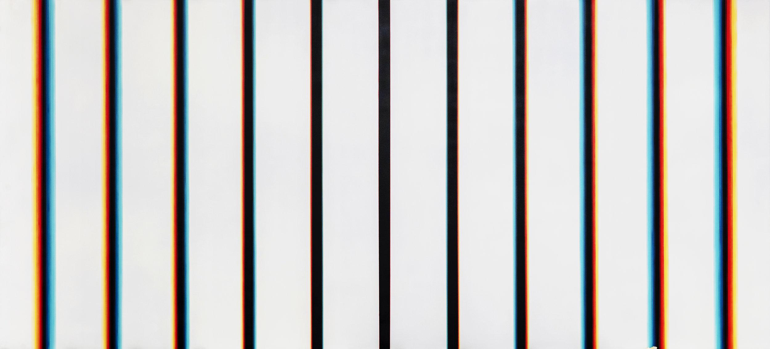 "c7c7bd,  Acrylic on Canvas, 59"" x 130"""
