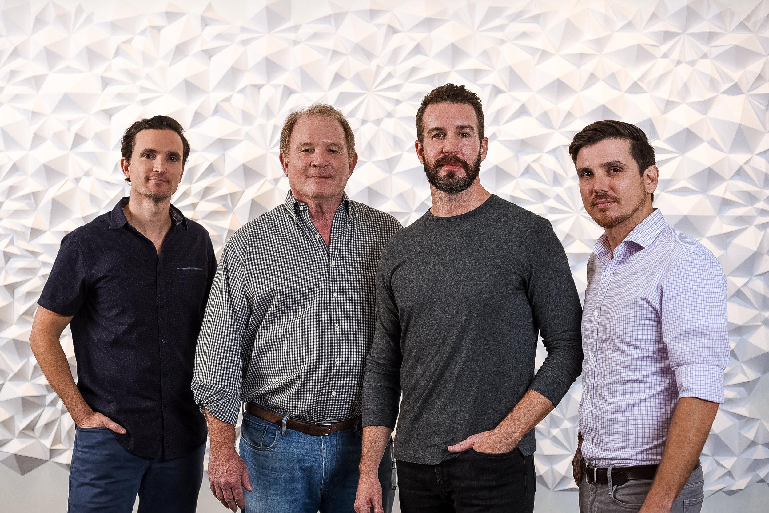 Matthew Riley, Thomas Riley, Chad Jensen, Benjamin Riley