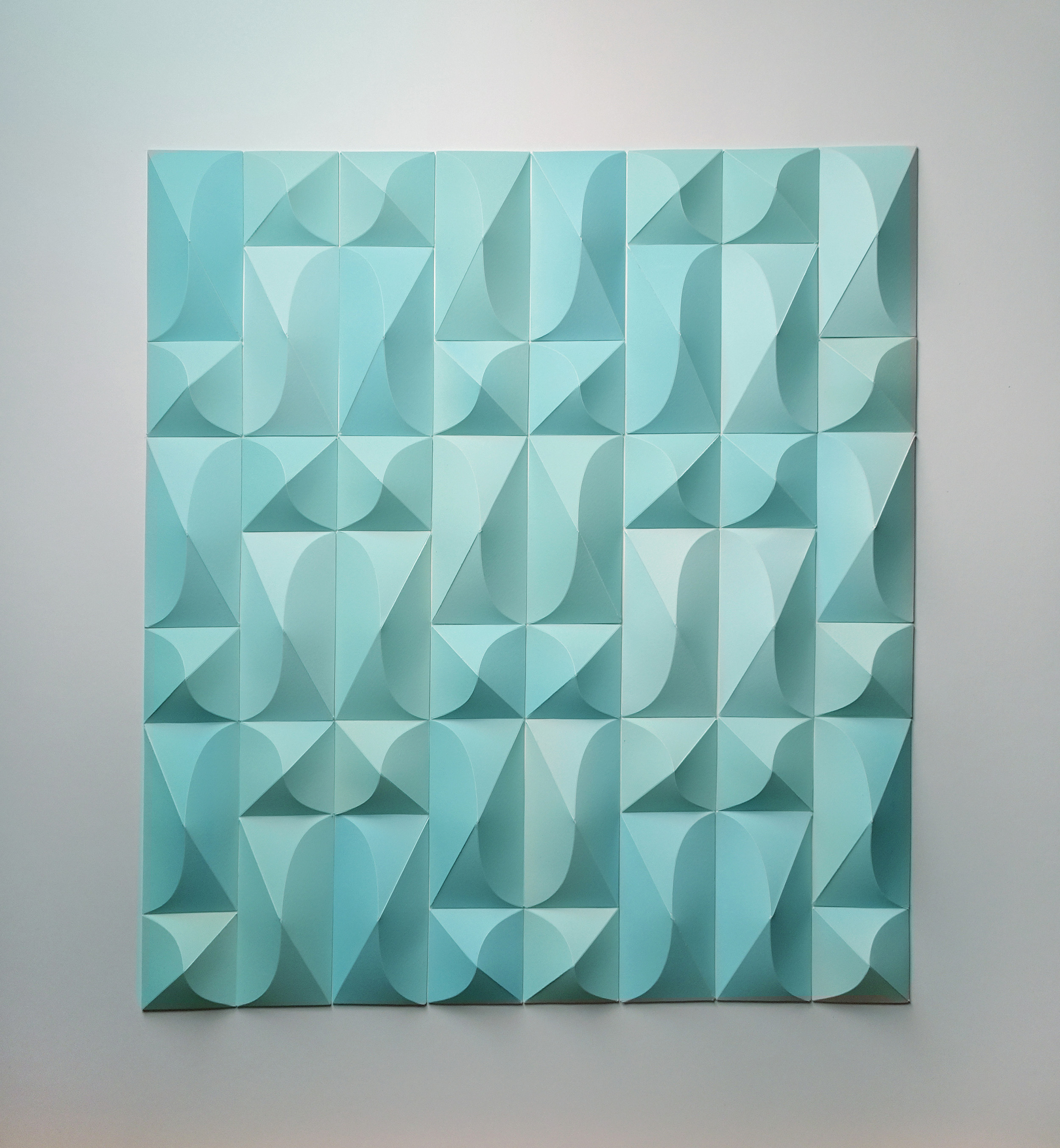 """Foreign Ministry, Celadon, 24"""" x 26"""" x 1"""""""