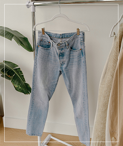 Styling tip:My tip for yourstaple pair of jeansis to have thembe a lighter wash,this way they looka little more vintage -