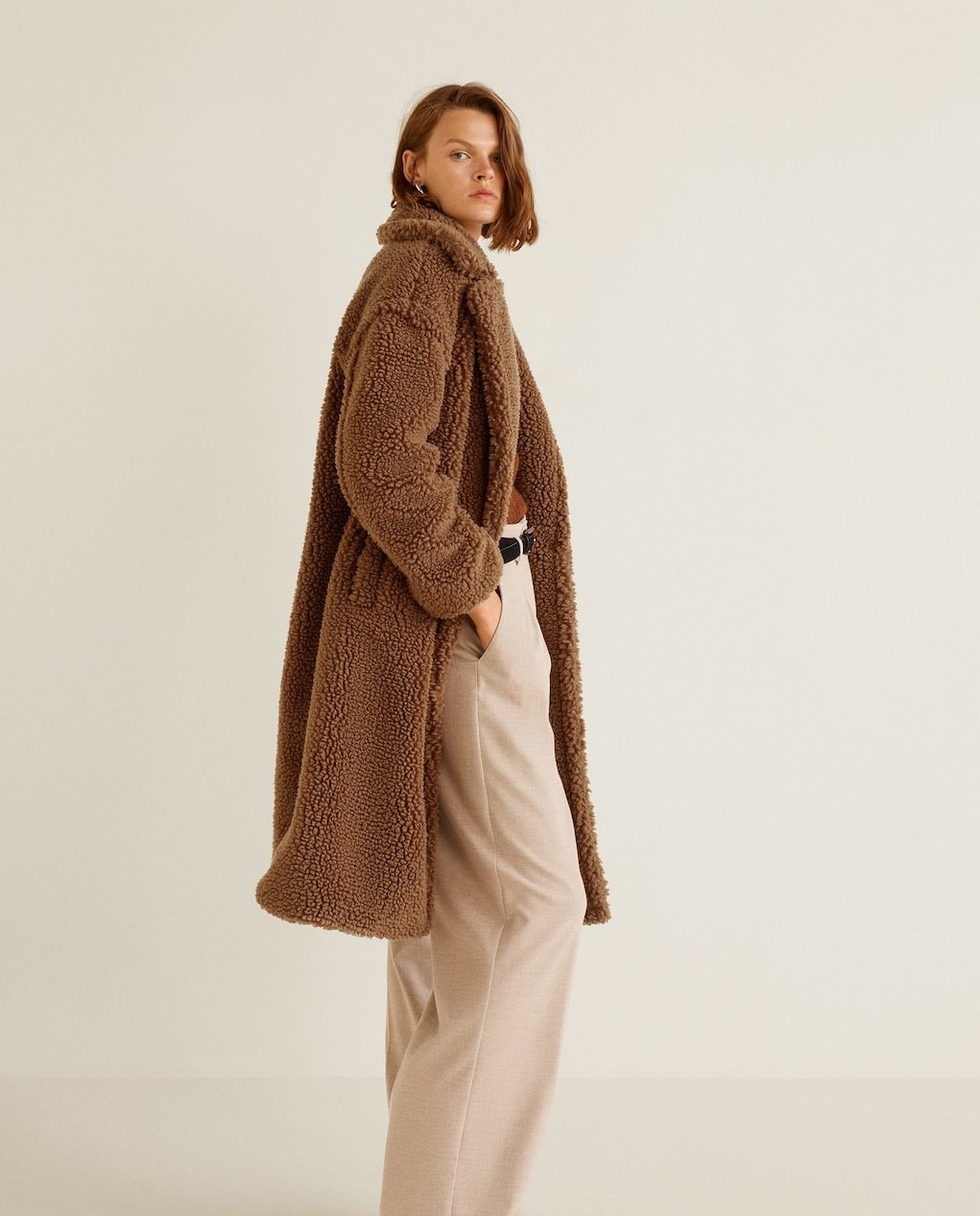 Teddy Coat - $125