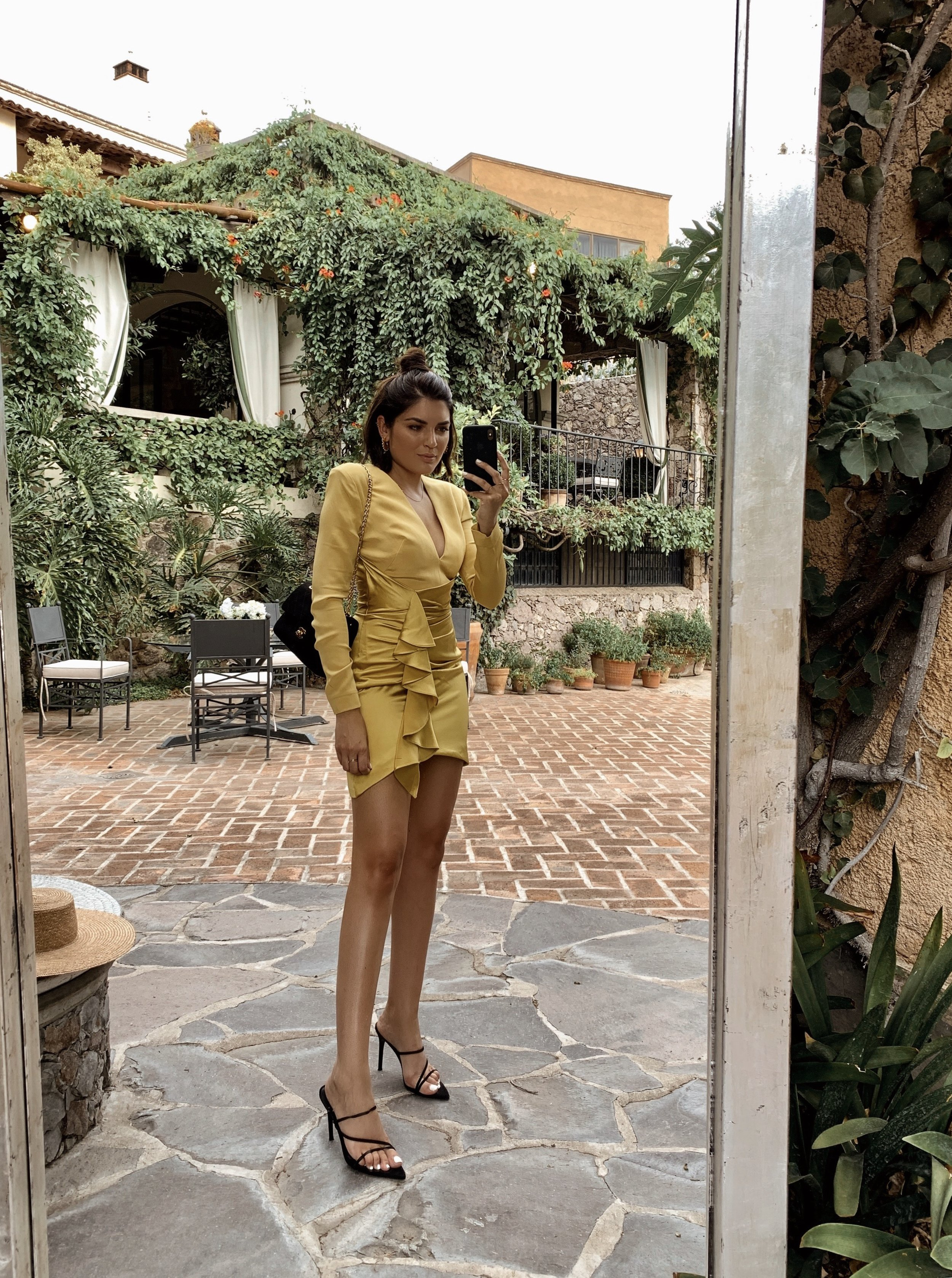 Emily Luciano - Yellow Haney Dress .JPG