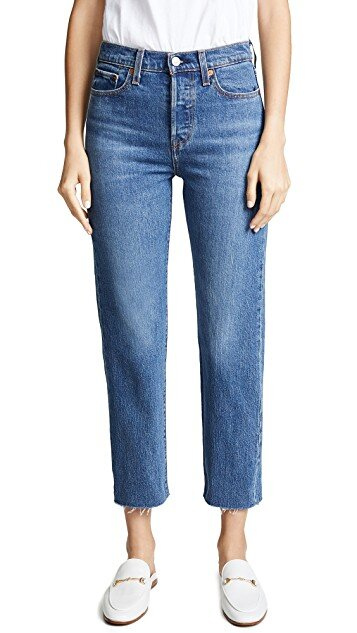 Levi's Wedgie Straight Jeans $98