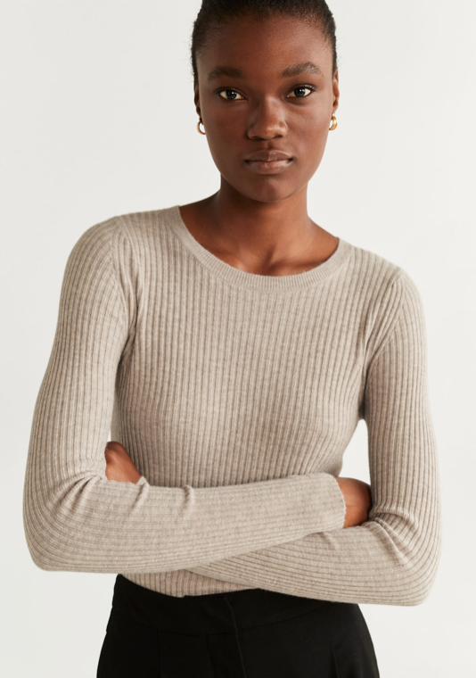 Mango Knit Sweater $39.99