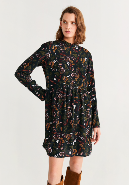 Mango Bow Dress $59.99