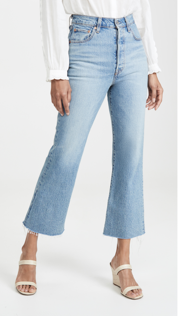 Levi's Ribcage Flare Jeans $98