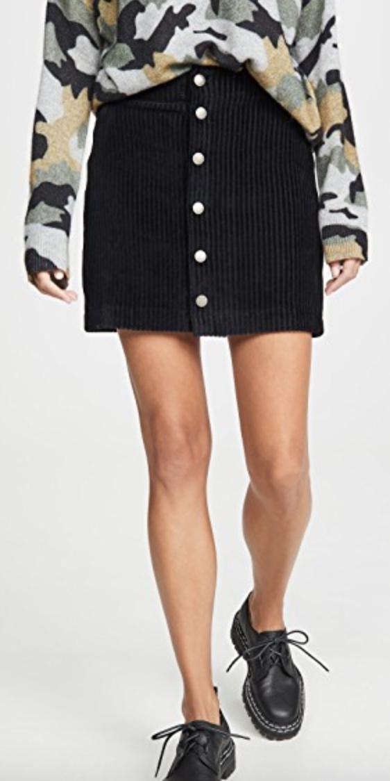 Z Supply Cord Skirt $60