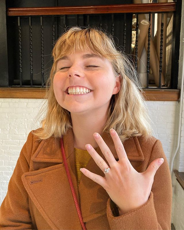 I'm so excited that my beautiful and brilliant daughter Zoe is engaged! Harlan is caring and thoughtful and an all around good guy, so we're delighted to welcome him to the family!