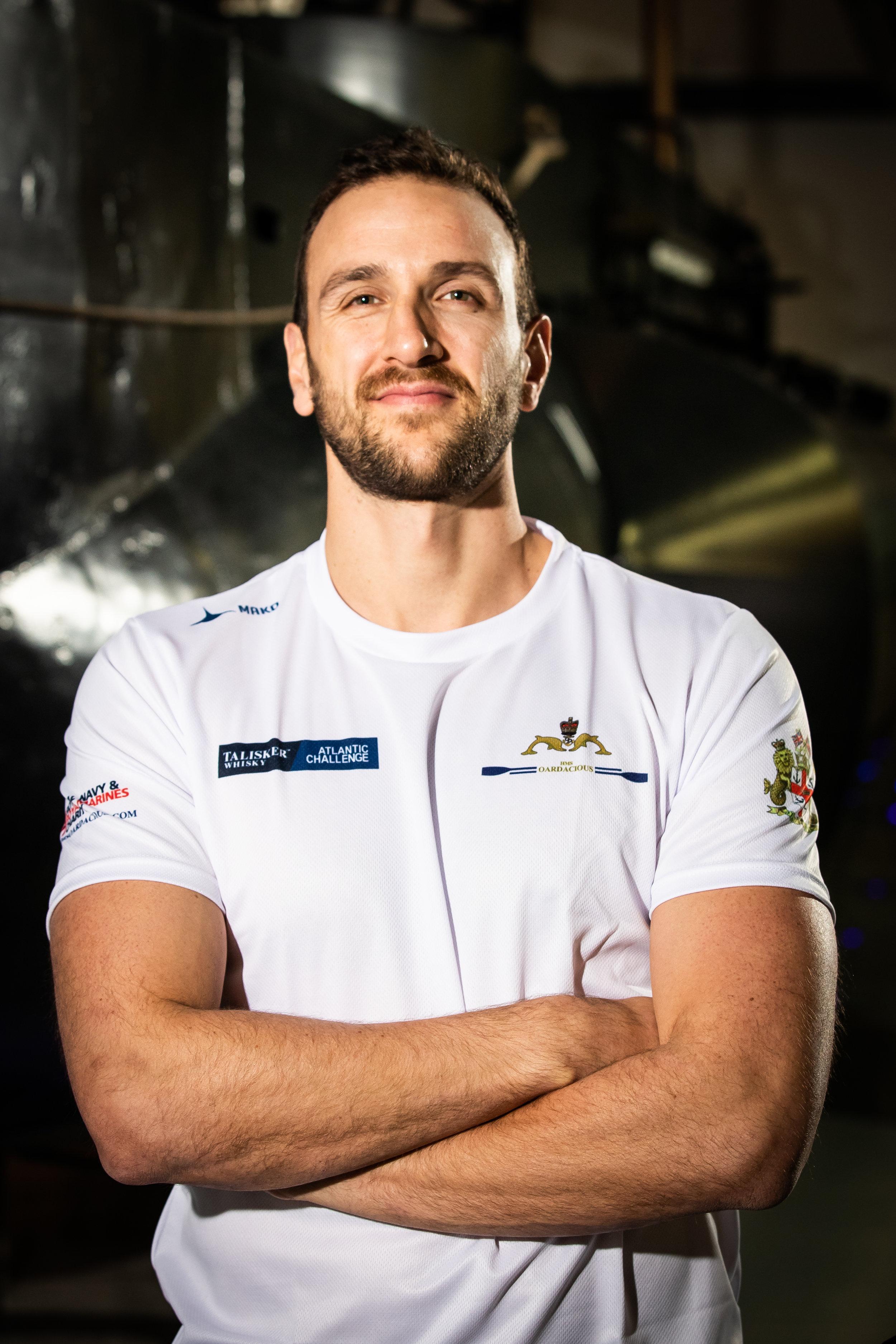 Lieutenant Hugo Mitchell-Heggs - Marine Engineering Officer