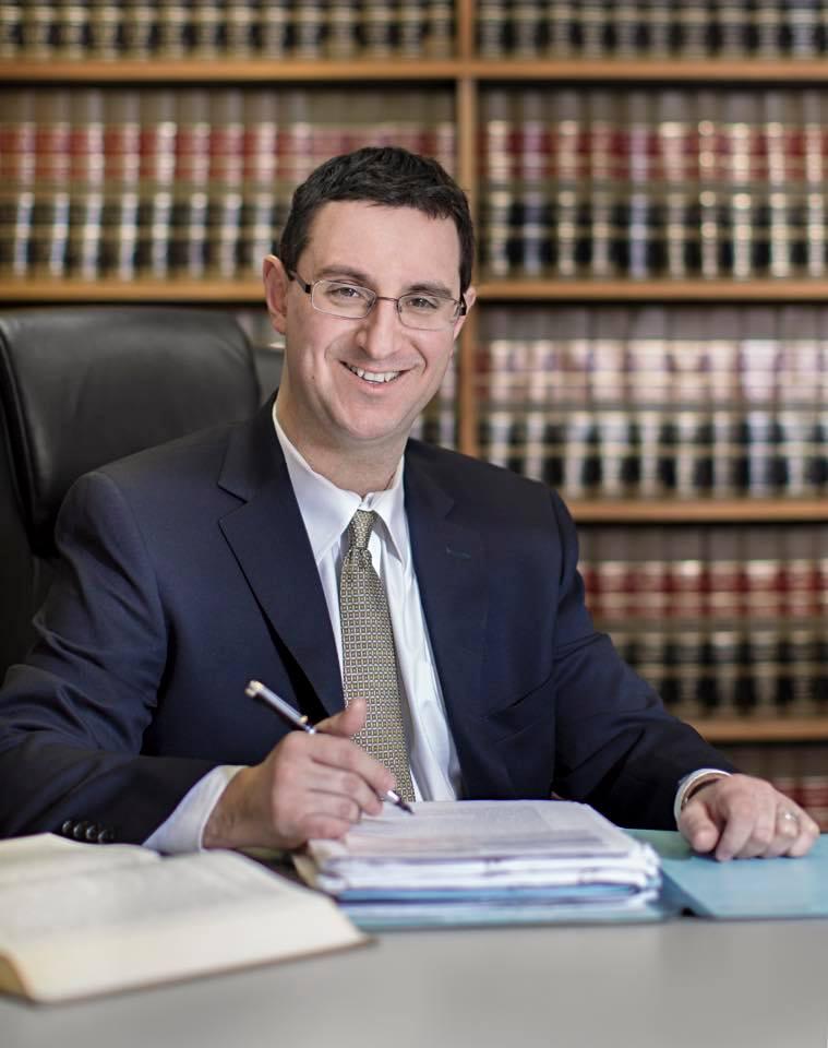 Attorney Joseph H. Nivin, co-chair of the Brandeis Association's Committee on Anti-Semitism. // Photo courtesy of Joseph H. Nivin.