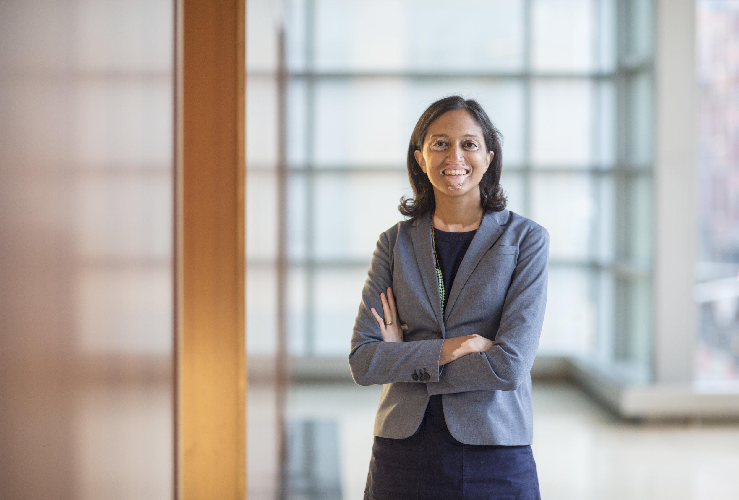 Swati Parikh, New York Law School's first executive director of public service and pro bono initiatives.