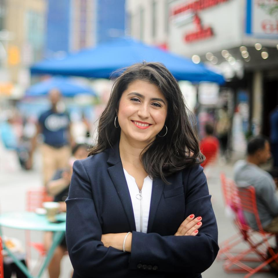 Photo caption: Democratic nominee for State Senate Jessica Ramos. Photo courtesy of Jessica Ramos