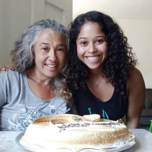Erika, right, and her mother, Maria. Photo courtesy of Law At The Margins.