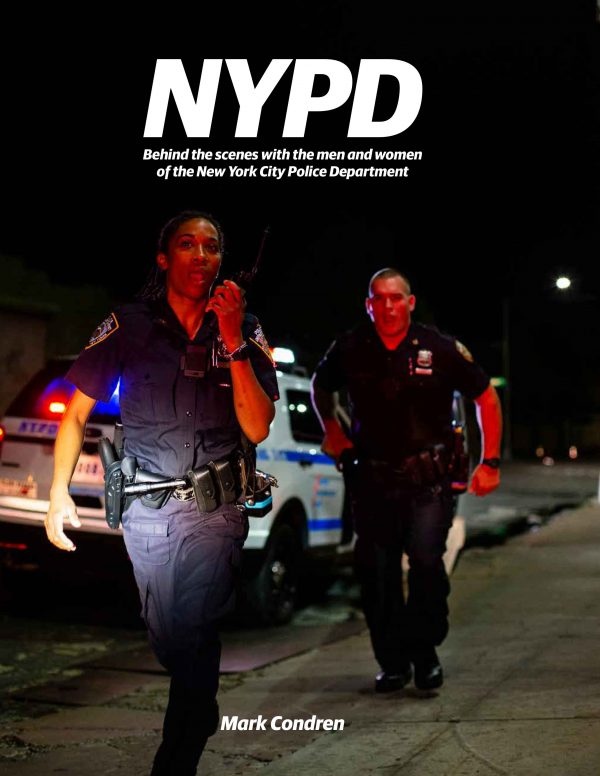 "Condren-Cover-Web: The cover of ""NYPD – Behind the Scenes."" Photo courtesy of the NYCPF."