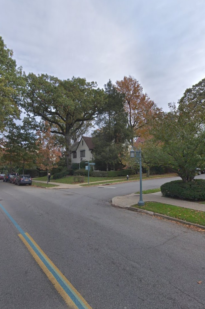Intersection of Continental Avenue and Slocum Crescent. Courtesy of Google Maps