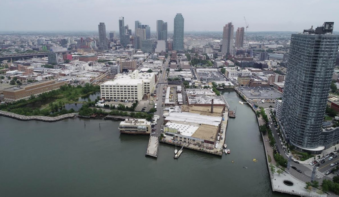 Aerial view of Long Island City. Photo courtesy of Gov. Cuomo's office.