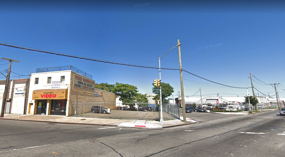 The intersection of Rockaway Boulevard and Guy R. Brewer Boulevard. Photo via Google Maps.