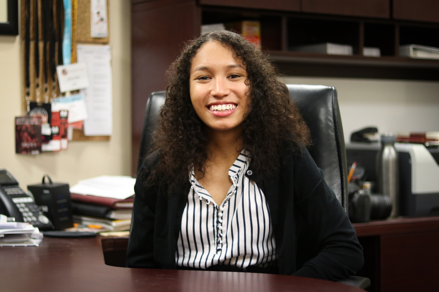 """Kristine E. Guillaume '20 will serve as the President of the 146th Guard of The Harvard Crimson. ©2018 The Harvard Crimson, Inc. All rights reserved. Reprinted with permission."""""""
