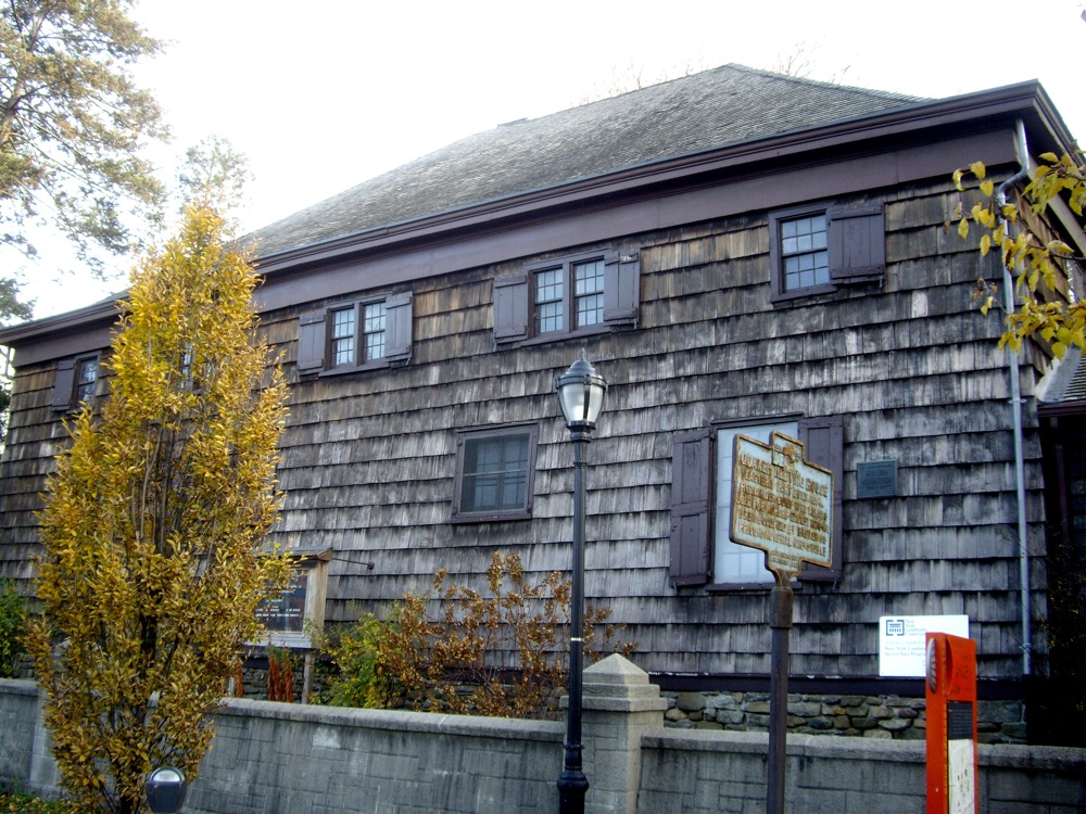 The Quaker Meeting House will participate in the annual Holly Tour organized by the Queens Historical Society. Photo by D Madeo.