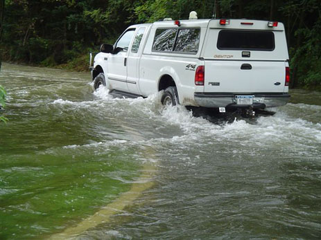 A DEP Police F250. Photo via Department of Citywide Administrative Services.