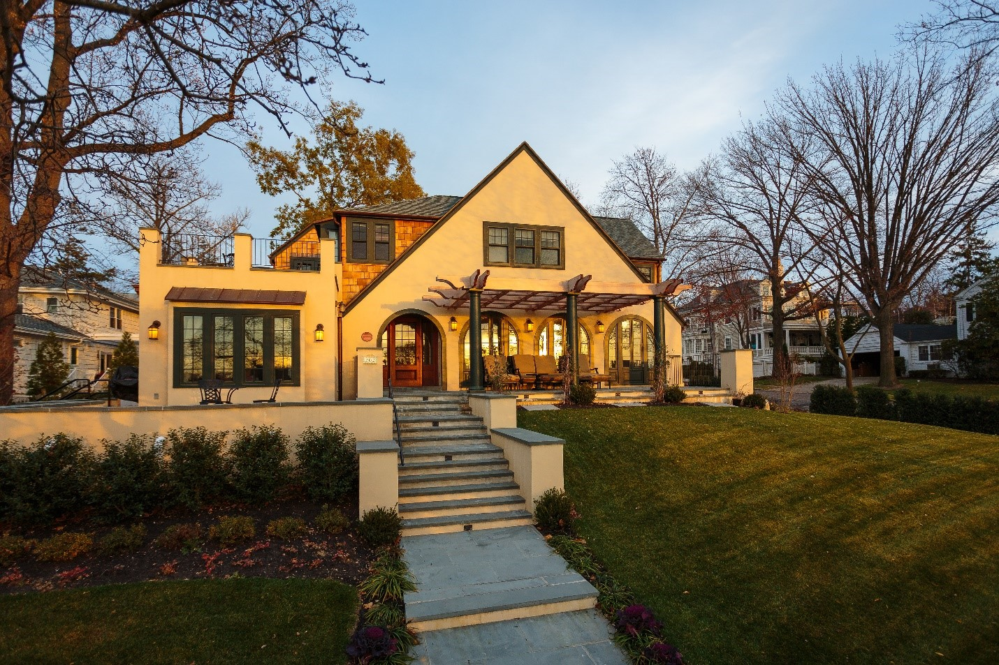 The Chan Lee Residence in Douglaston won second prize for best interior design among single- and two-family residence.