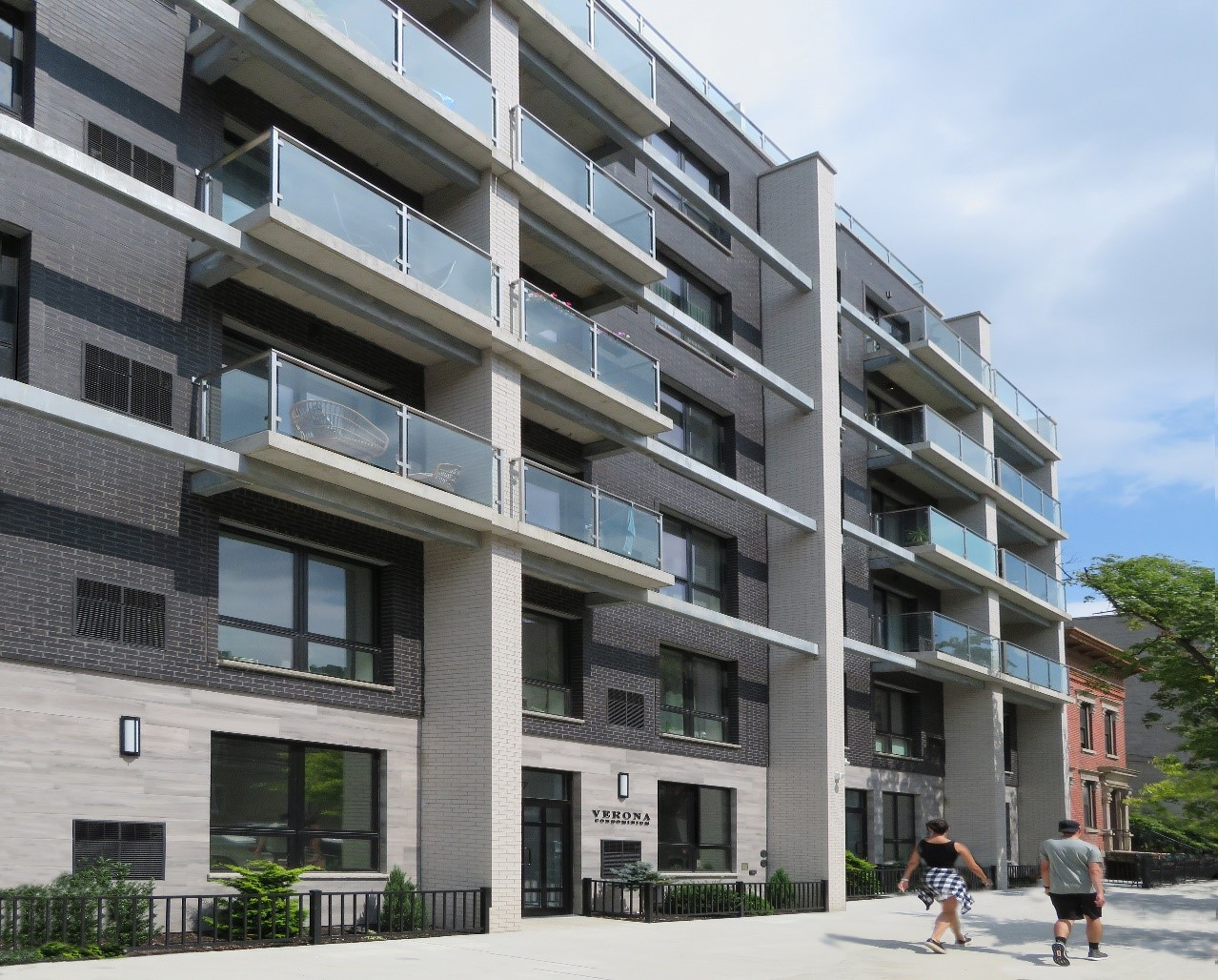 Verona Condominiums in Astoria won the award for best new construction among mixed-use buildings.