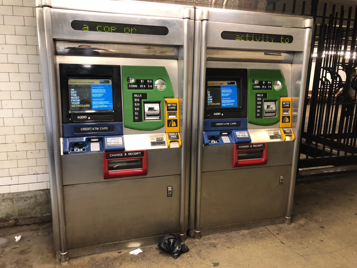 Starting in January, low-income New Yorkers will be able to purchase MetroCards at half-price, thanks to a new city program. Advocates are calling on Mayor Bill de Blasio to release details of the program.  Eagle  file photo by Paula Katinas.