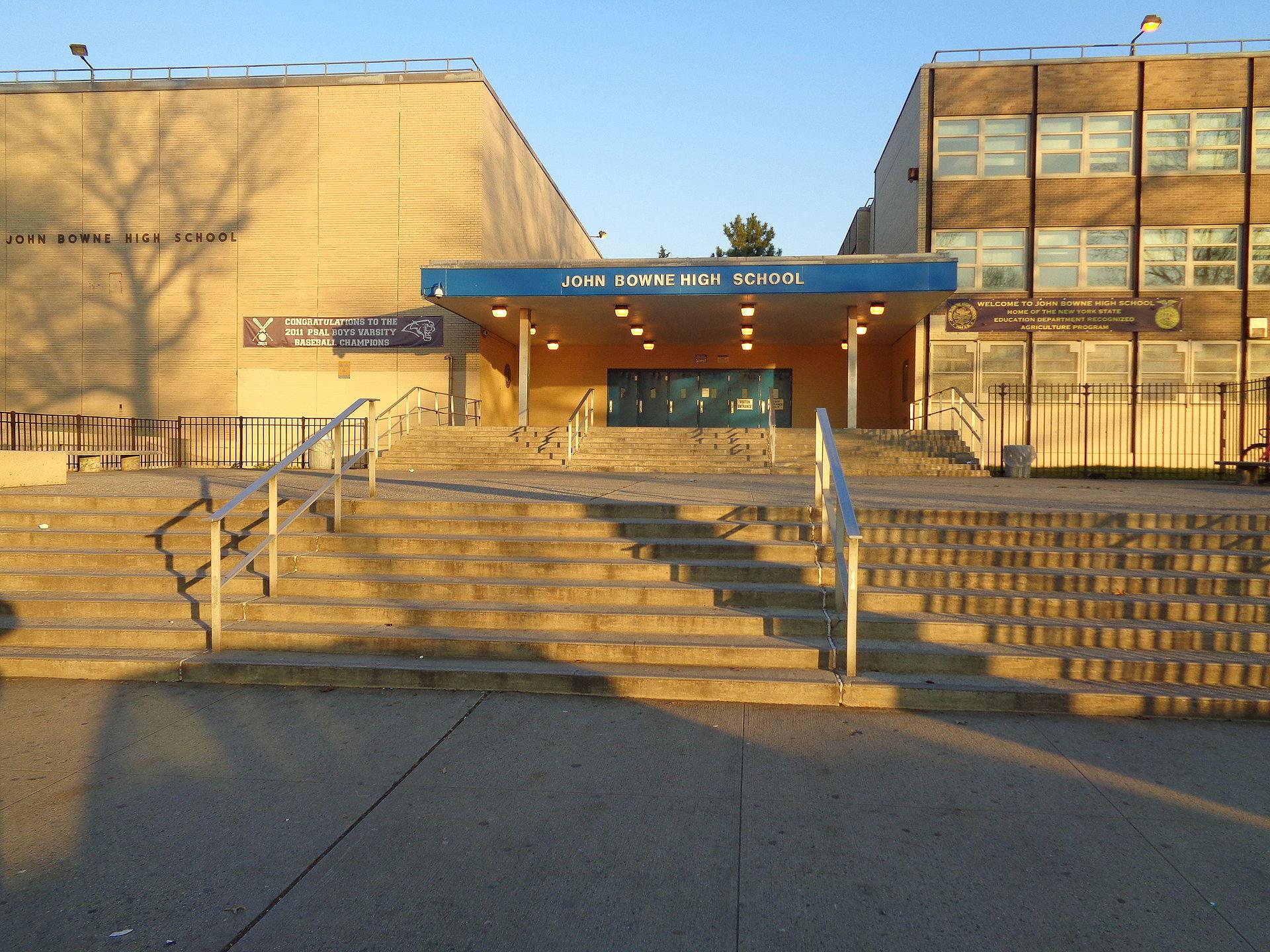 John Bowne High School. Photo by  TDorante10 .