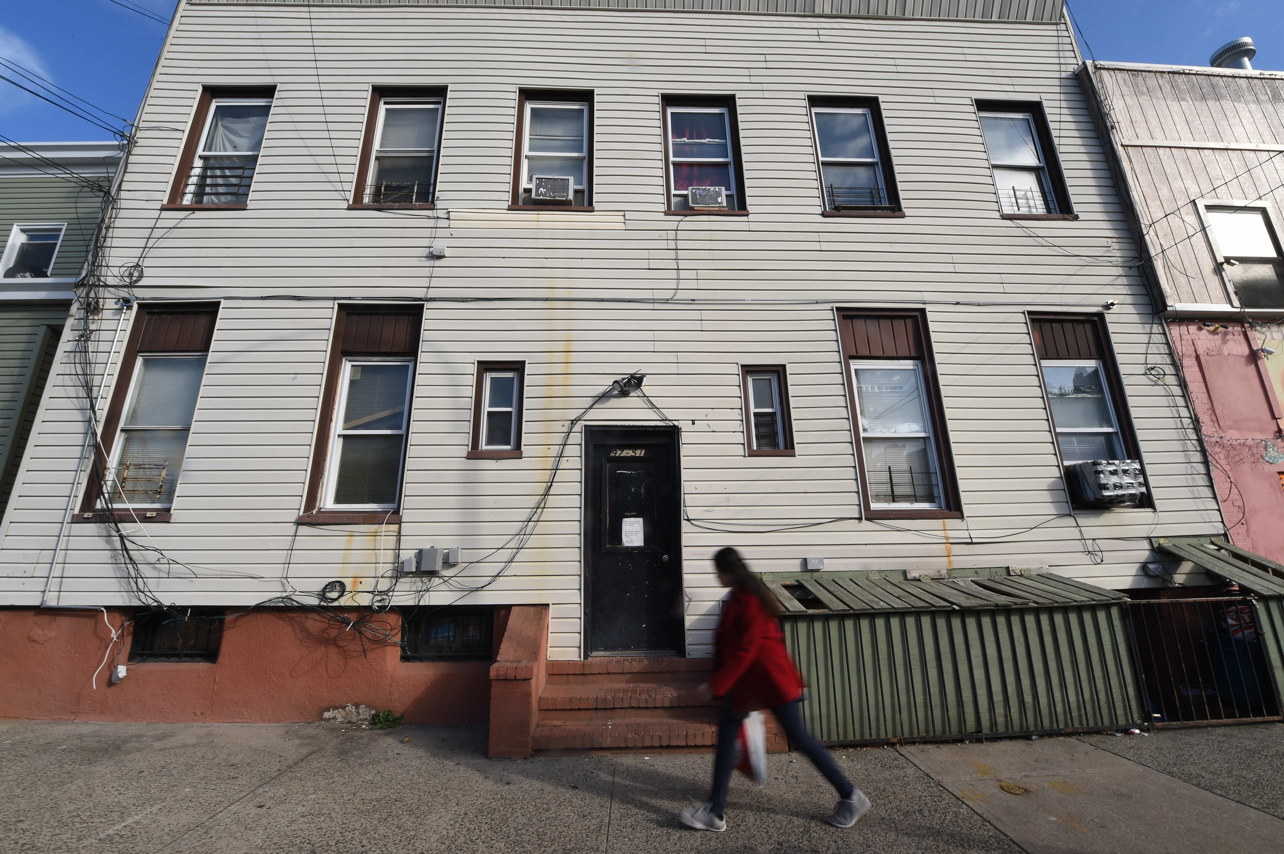 The building at 97-51 104th Street in Ozone Park is managed by Isaac Azoulay, ranked number 64 on Public Advocate Letitia James' 2018 Worst Landlords List.  Eagle  photo by Todd Maisel