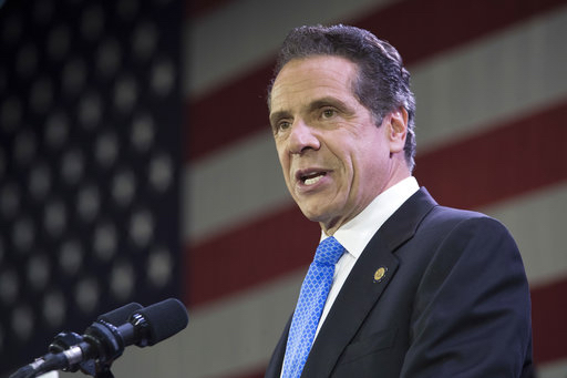 Gov. Andrew Cuomo said Thursday that he's calling off a planned 15-month shutdown of the L train, a critical subway link between Manhattan and Brooklyn, saying a team of experts had come up with a way to overhaul a flood-damaged tunnel beneath the East River without closing it or even significantly curtailing service. AP Photo/Mary Altaffer.