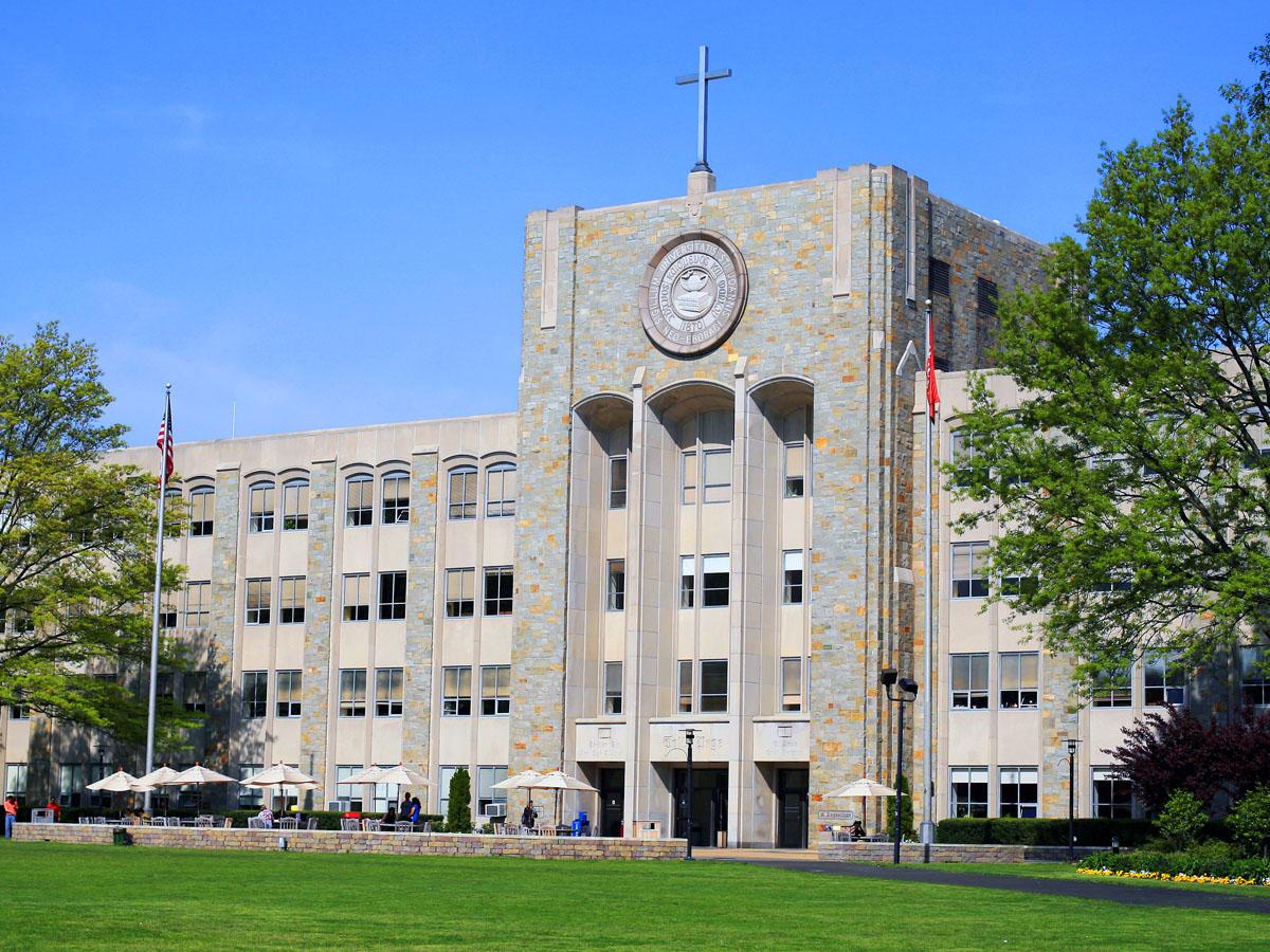 St. John's University's St. Augustine Hall. Photo by  Zeuscgp