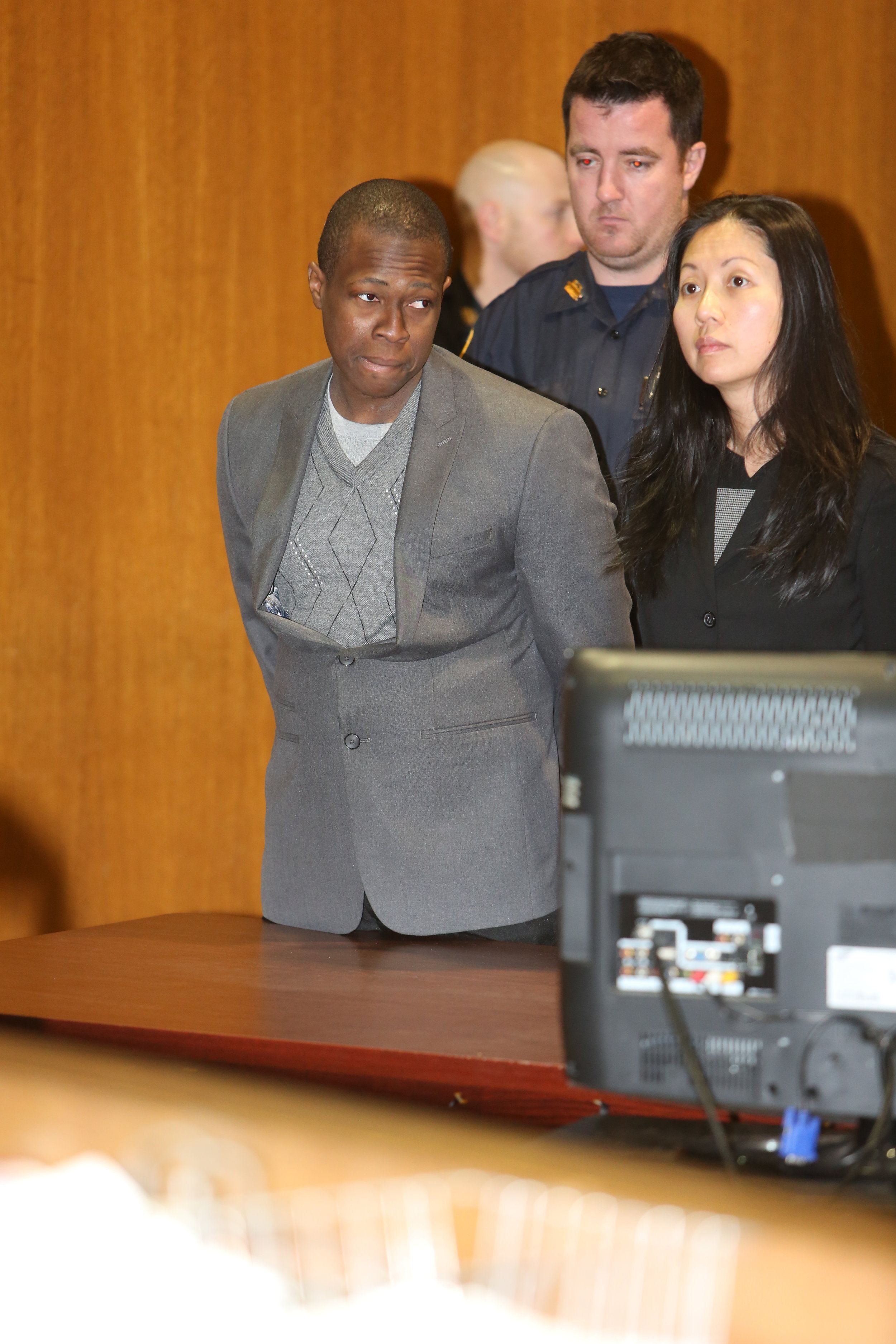 Jury selection for the retrial of Chanel Lewis will begin in Queens Supreme Criminal Court on March 12.Pool photo by Ellis Kaplan.