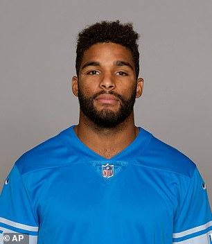 Detroit Lions Linebacker Trevor Bates. AP Photo