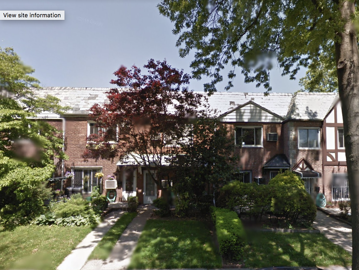 A fatal fire occurred at 148-40 60th Ave. in Flushing on Thursday. Photo via Google Maps.