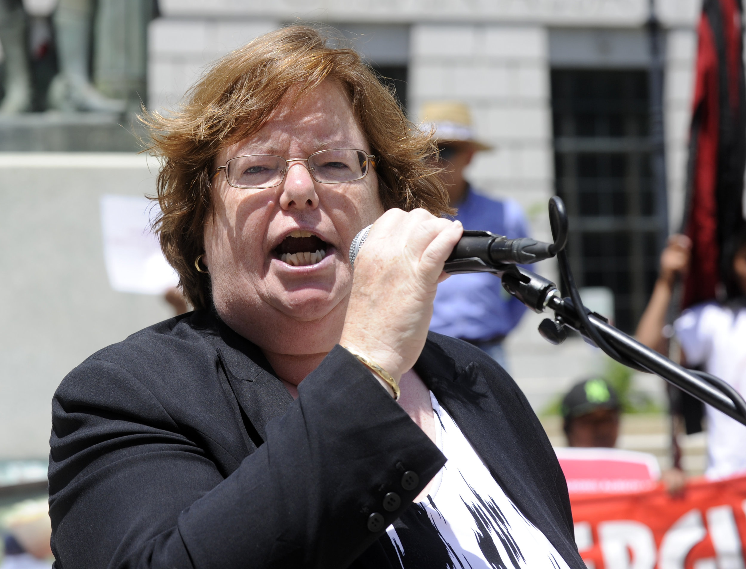 Assemblywoman Catherine Nolan. (AP Photo/Hans Pennink).